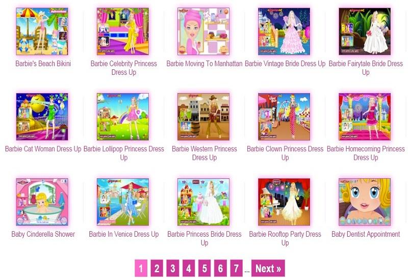 Igrajte se Barbie igrice!